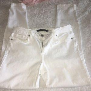 Joes white skinny jeans